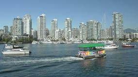 usługowa taxi Vancouver woda zdjęcia royalty free