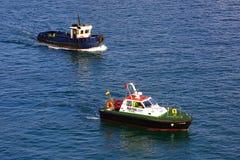 Usługowe łodzie zdjęcie stock