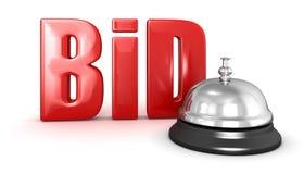 Usługowy dzwon i oferta Obraz Stock