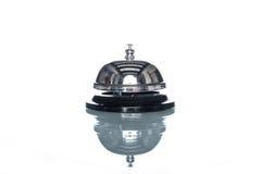 Usługowy dzwon na białym tle, klienta żądanie fotografia stock