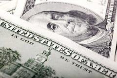 富兰克林美国宏指令 免版税库存图片