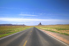 US 163 to Monument Valley Stock Images