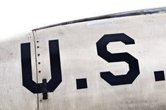 US-Abzeichen Lizenzfreies Stockfoto
