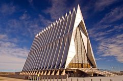 US Air Force Academy Chapel Stock Photography