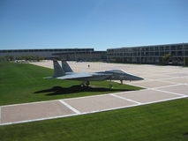 US Air Force Academy - Fighter Jet  Royalty Free Stock Photo
