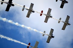 US Air Force at the Air Show Stock Image