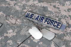 Us air force camouflaged Royalty Free Stock Photos