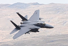 US Air Force F15 fighter jet Stock Photos
