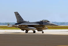 Free US Air Force Jet Returning From Mission Stock Image - 18339181