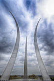 US Air Force Memorial Stock Images