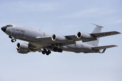 US Air Force in Oklahoma. Skies Stock Images