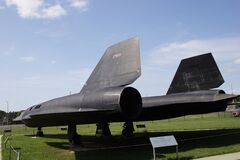 Free US Air Force`s SR-71 Blackbird Spy Plane In Richmond, Virginia Royalty Free Stock Images - 172043759