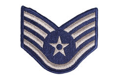 Us air force sergeant rank royalty free stock photography