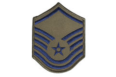 Us air force sergeant rank Royalty Free Stock Photo
