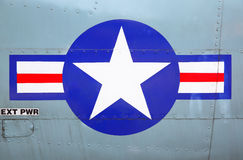 US Air Force. Stars and stripes Royalty Free Stock Photography