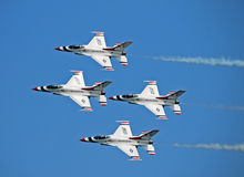 Free US Air Force Thunderbirds Royalty Free Stock Photos - 18393968