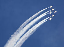 US Air Force Thunderbirds royalty free stock images