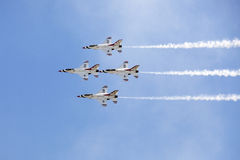 US Air Force Thunderbirds Stock Photo