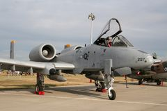 US Air Force A-10 Thunderbolt II Stock Photography