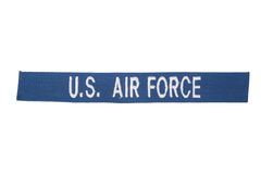 US AIR FORCE uniform badge stock images