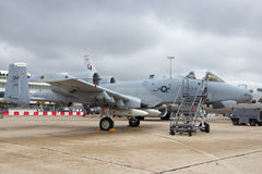 US AIr Force A-10 Warthog Royalty Free Stock Photography