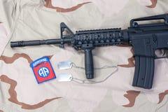 Us airborne carbine Stock Photography