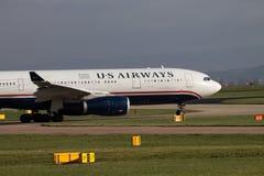 US Airways Airbus A330 imagem de stock royalty free