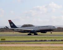 US Airways Airbus A330 Imagens de Stock