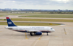 US Airways airline passenger jet Stock Photo