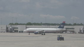 US Airways passenger jet in 4K stock video