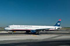 US Airways plane Royalty Free Stock Photography