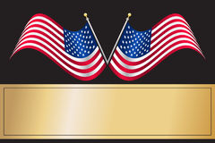 US American Flag Royalty Free Stock Photos