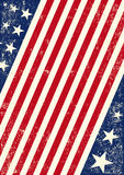 US american flag background Stock Photos