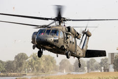 US Army Black hawk helicopter stock images