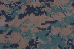 Us army camouflage pattern Stock Photo