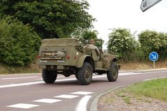 US army car willis Stock Photography