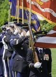 US Army Celebrating Holiday Royalty Free Stock Photography