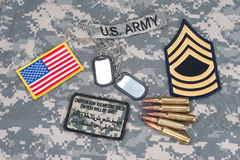 US ARMY concept Stock Photography