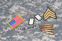 US ARMY concept Royalty Free Stock Photo