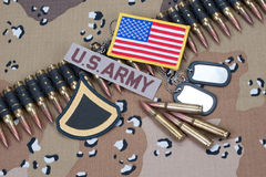 US ARMY concept Stock Photos
