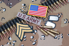 US ARMY concept Royalty Free Stock Image