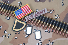 US ARMY concept Royalty Free Stock Photos