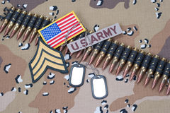 US ARMY concept Royalty Free Stock Images