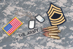 US ARMY concept Royalty Free Stock Photography