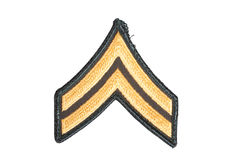 Us army corporal rank Stock Photo