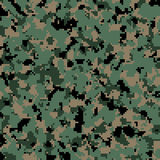 US Army digital camouflage pattern background Stock Photo