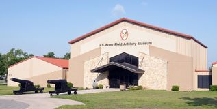 US Army Field Artillery Museum. Stock Photo