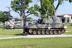 US Army Field Artillery Museum. Royalty Free Stock Image