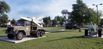 US Army Field Artillery Museum. Royalty Free Stock Photo