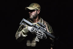 US Army Green Beret Stock Image